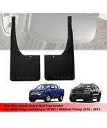 Rear Splash Guard Mud Flap For (4WD) 4 Door Ford Ranger T6 Pickup 2012 -... - $105.66