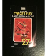 Target Fun  Game Instruction Booklet * Sears Tele-Games - $19.80