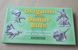 Origami with Dollar Bills, Book by Dug Nguyen - $2.96