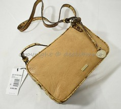 NWT Brahmin Demi Shoulder/Crossbody Camera Bag in Toasted  Rochelle MSRP $285 - $239.00