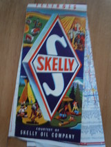 Vintage Skelly Oil Company Highway Map of Illinois - $4.99