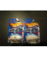 Star Spangled 2 Hot Wheels 2 Count Mustang 1965 - $4.40