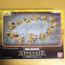 Bandai Saint Seiya Myth Cloth APPENDIX Appendix Gold Object Set 12 - $220.42
