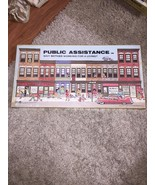 Public Assistance Board Game Vintage 1980 Welfare Banned Adult RARE SEAL... - $952.45