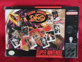 Boxing Legends of the Ring (Super Nintendo Entertainment System, 1993) - $11.87