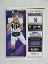 Trevor Siemian Northwestern 2018 Panini Contenders Draft Football Card 96 - $0.98