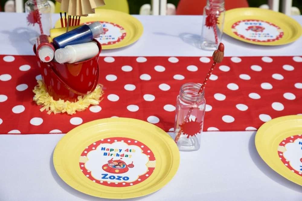 Little Einsteins plates & cups   Little Einstein birthday plates and cups
