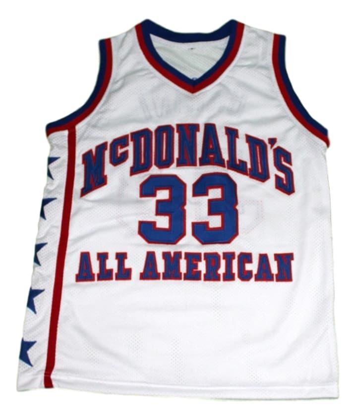 Kobe Bryant #33 McDonald's All American New Men Basketball Jersey White Any Size