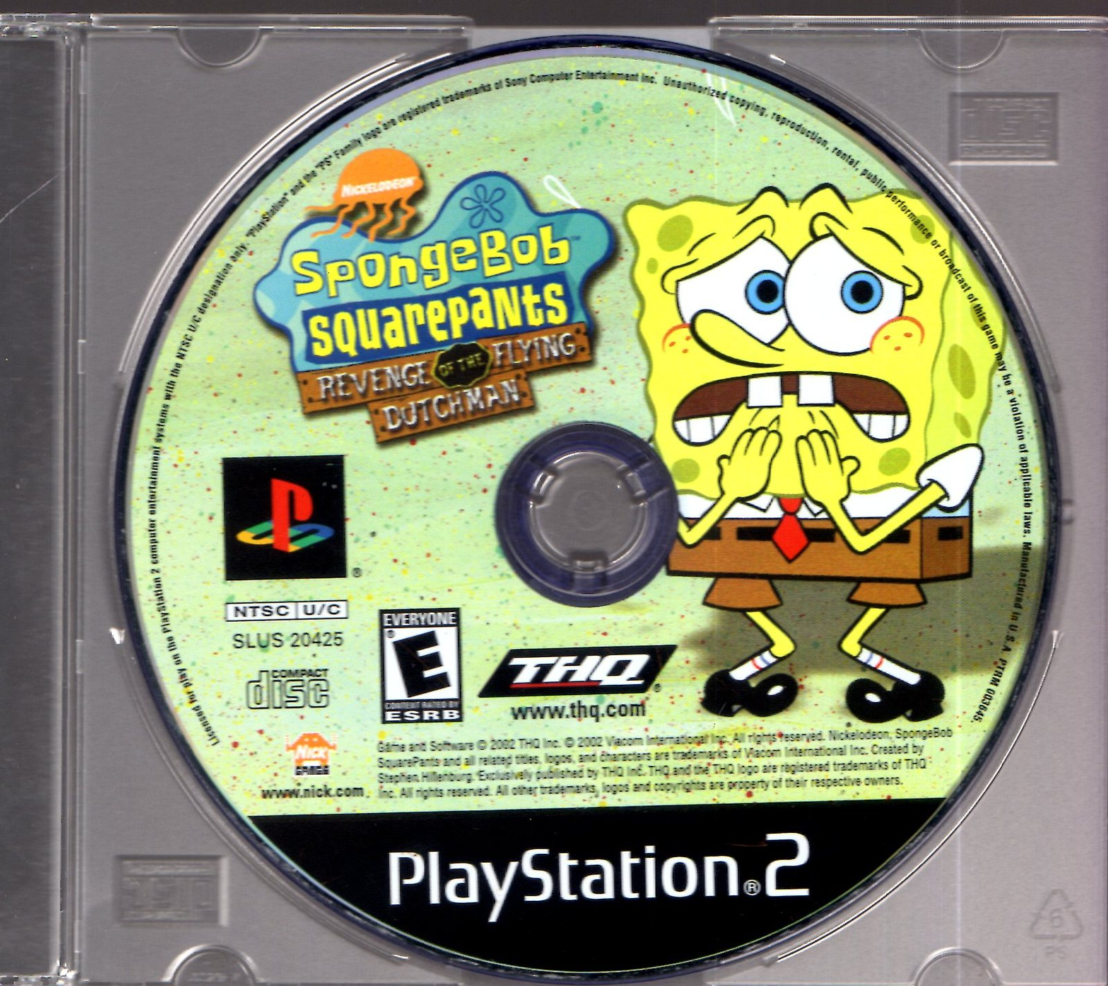 PlayStation 2 - Spongebob Squarepants - Revenge Of The Flying Dutchman