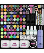Morovan Acrylic Nail Kit Glitter Powder and Monomer Acrylic Nail Liquid Set 7... - $59.01