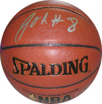 Jahlil Okafor signed Indoor/Outdoor NBA Spalding Basketball #8 (Philadel... - $68.95