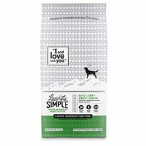 """I and love and you"" Lovingly Simple Dry Dog Food - Grain Free Limited Ingredien"