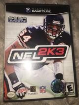 NFL 2K3 (Nintendo GameCube, 2002) - Complete in Box - $6.85