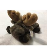 NWT Aurora Flopsies Mel The Moose Plush Stuffed Animal Floppy Toy 06246 Vtg - $22.99