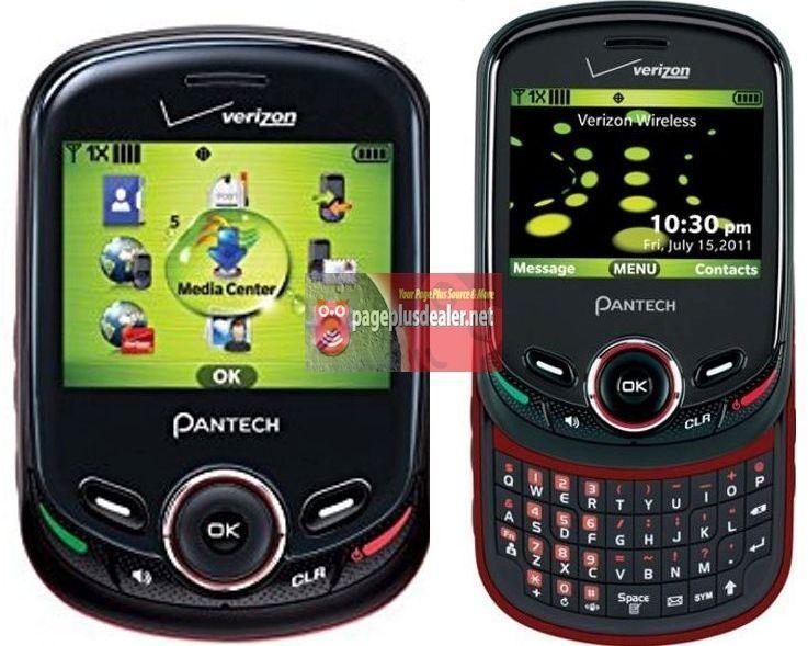 New -Pantech Jest 2  Black TXT8045 (Verizon)(Page Plus) Slider Cellular Phone