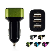 Universal Triple USB Car Charger Adapter Socket 2A 2.1A 1A - $12.99