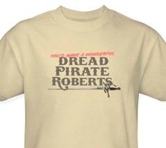 Princess Bride T-shirt Dread Pirate 1980s movie retro 100% cotton tee PB122 image 1