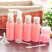 Travel Bottle Set Empty Container Refillable Plastic Cosmetic MakeUp Lot... - $7.95