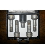 MERCEDES BENZ MB OEM B66470156 Wheel lug bolt Locks LONG version silver ... - $47.96