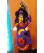 """Pier 1 ( X-LARGE) 22"""" HALLOWEEN WITCH TREE TOPPER or Stand up decoration - $16.82"""