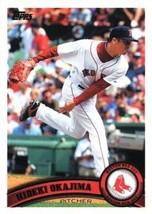 2011 Topps #423 Hideki Okajima NMMT Red Sox  - $0.75