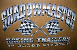 RV Decal SHADOWMASTER Racing Trailers By Cargo Express  UPC:710534482769 - $11.88