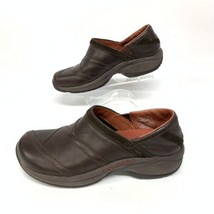 Merrell Women Primo Leather Patch Bug Slip On Hiking Walking Shoes Sz 7 ... - $37.09