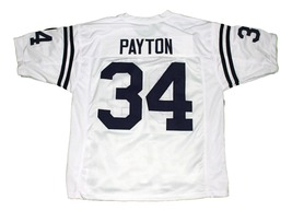 Walter Payton #34 Jackson State New Men Football Jersey White Any Size image 2