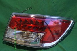 07-09 Mazda CX-9 CX9 Outer LED Tail Light Taillight Passenger Right RH