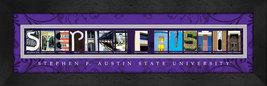 Stephen F. Austin State University Officially Licensed Framed Campus Letter Art - $39.95