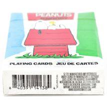 Aquarius Peanuts Comic Panel Snoopy Beagle Dog Theme Playing Card Deck image 4