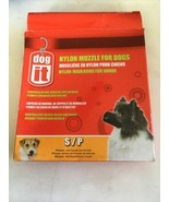 """Dog It Nylon Muzzle for Dogs Small (4.7"""" Long) - $13.75"""