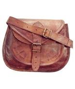 """New 13"""" Women's Vintage Soft Leather Satchel Handbag Tote Sling Shoulder... - $68.35"""