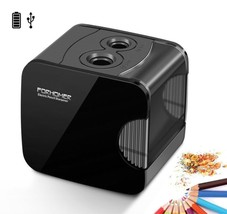 Black Pencil Sharpeners Electric Automatic Operated Cutters Large Heavy ... - $22.42