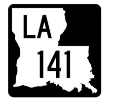 Louisiana State Highway 141 Sticker Decal R5856 Highway Route Sign - $1.45+