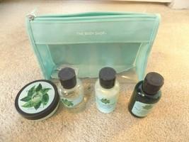 The Body Shop 4 Piece Bath & Body Set-Conditioner-Shampoo-Shower Gel-Body Butter - $19.68