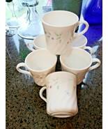 "Set 6 Corning Corelle ""English Meadow"" cups mugs - $24.70"