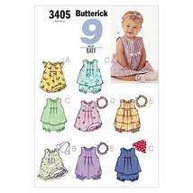 INFANTS DRESS, TOP, ROMPER, PANTIES, HAT & HEADBAND SIZES NB-S-M 7-21 LB... - $10.58