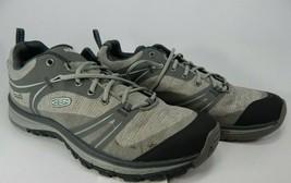 Keen Terradora Low Top Size 7.5 M (B) EU 38 Women's WP Hiking Shoes Grey 1016505