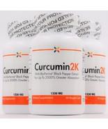 Curcumin2K 1330 mg | BioPeperine | 60 veggie caps (3-Pack) by Stop Aging... - $169.95