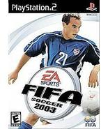FIFA Soccer 2003 (Sony PlayStation 2, 2002) - $4.45