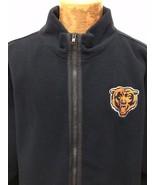 NFL Chicago Bears Blue Lined Fleece Zip-Front Jacket 2XL - $67.13