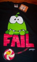 Cut The Rope Epic Fail Video Game T-Shirt Xl New w/ Tag - $19.80