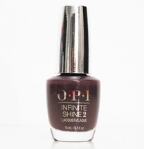 OPI Infinite Shine 2 Never Give Up  IK L25 Brown New Bottle 158 - $8.90