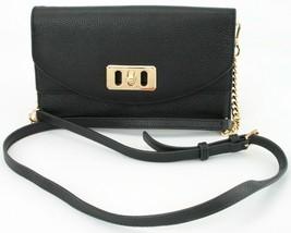 Michael Kors Karson Black Cross Body Shoulder Bag Medium Handbag Leather - $209.72