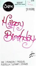 Sizzix Sizzlits - Happy Birthday - Die #655180 - RETIRED