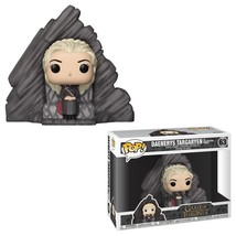 Game of Thrones Daenerys on Dragonstone Throne POP Rides Figure #63 FUNK... - $29.02