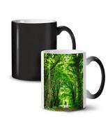 Green Forest Road NEW Colour Changing Tea Coffee Mug 11 oz | Wellcoda - $19.99