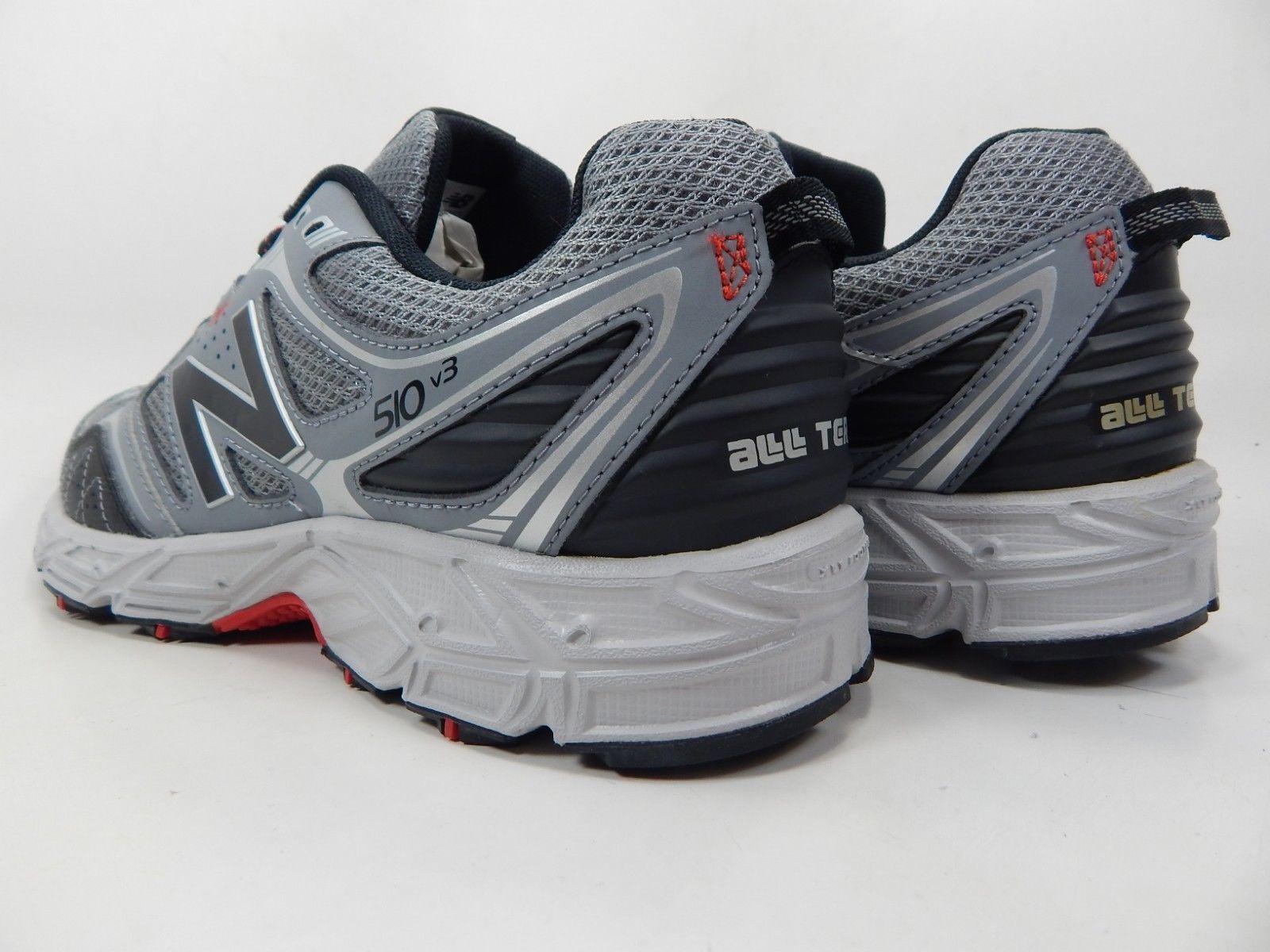 New Balance 510 v3 Size 9.5 M (D) EU 43 Men's Trail Running Shoes Gray MT510RG3