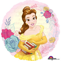Belle and the Beast Party BALLOONS Birthday Mylar Decoration Foil 3PC Pr... - $12.85